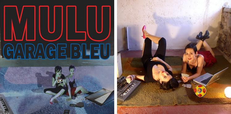 mulu - garage bleu