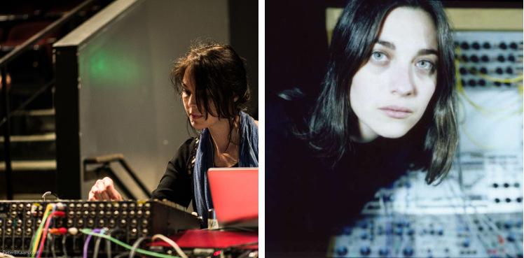 Olivia Block (sinistra), Kali Malone (destra)